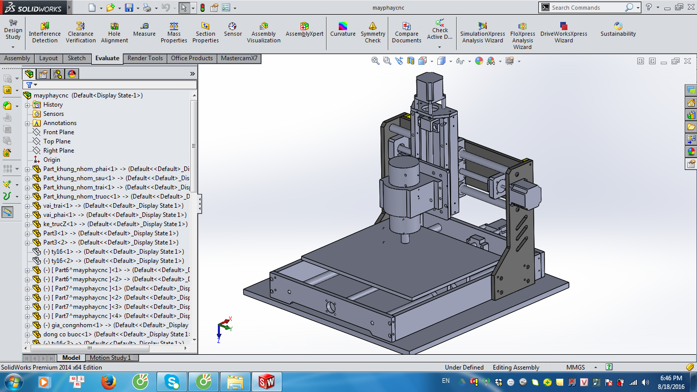 cnc machine solidworks stl step iges solidworks 3d cad model rh pinterest co uk