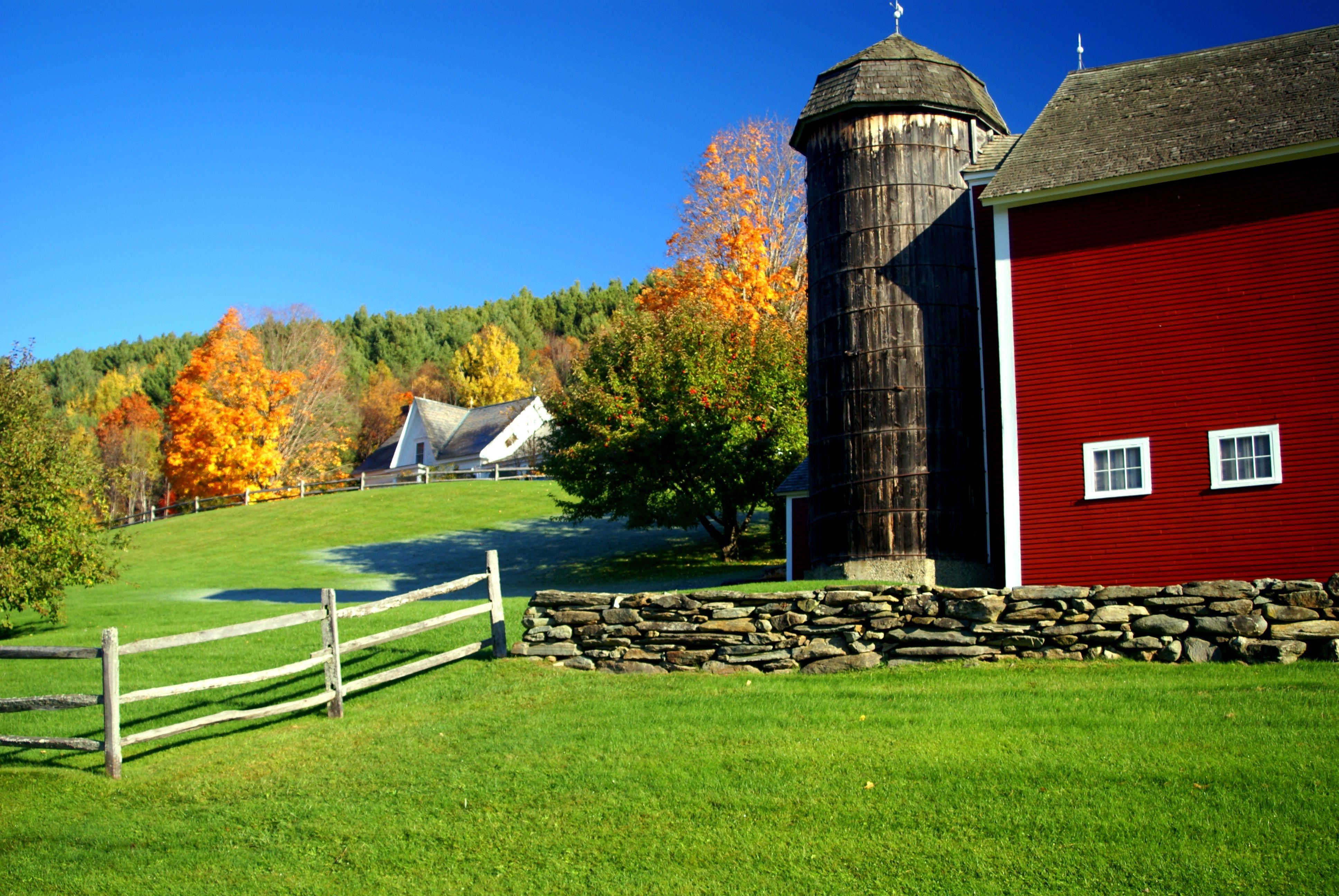 Woodstock VT Area - Honey Hill Farm - A Classic Vermont Hilltop Farm
