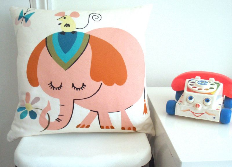 Edie Elephant Cushion