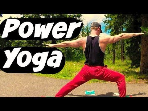 20 min power yoga for athletes  yoga workout for strength