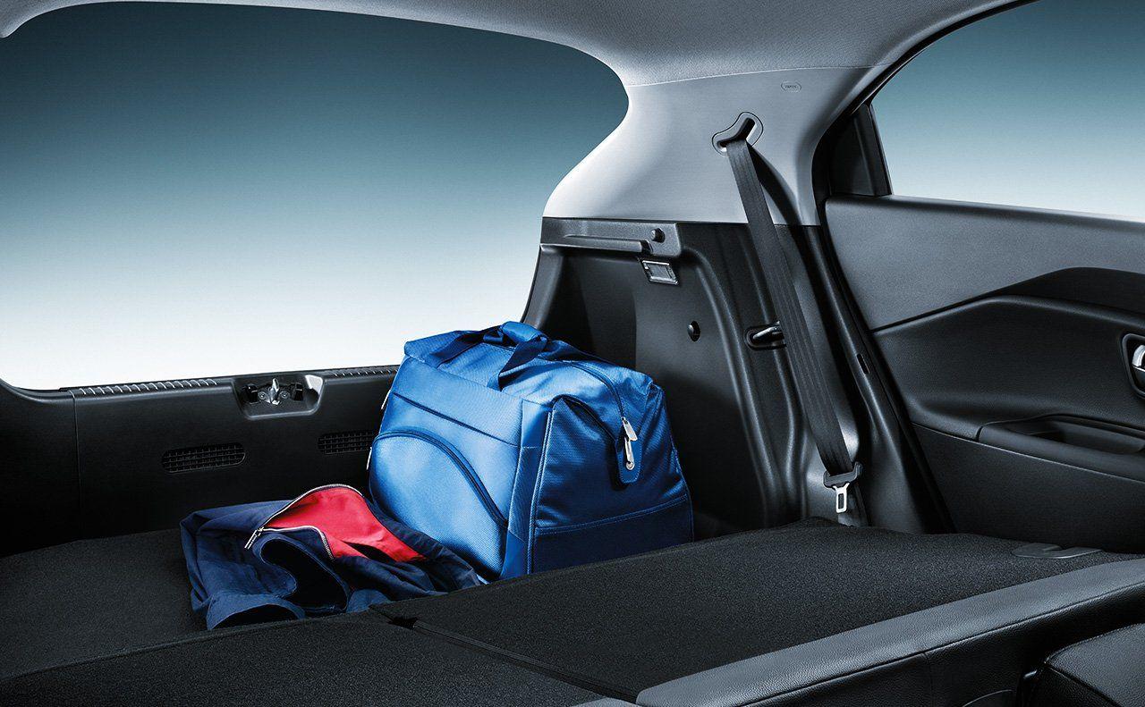 2015 Kia Rio 5 Door The 60 40 Split Folding Rear Seat Maximizes