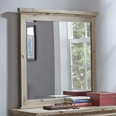 Darby Home Co Fort Collins Rectangular Dresser Mirror