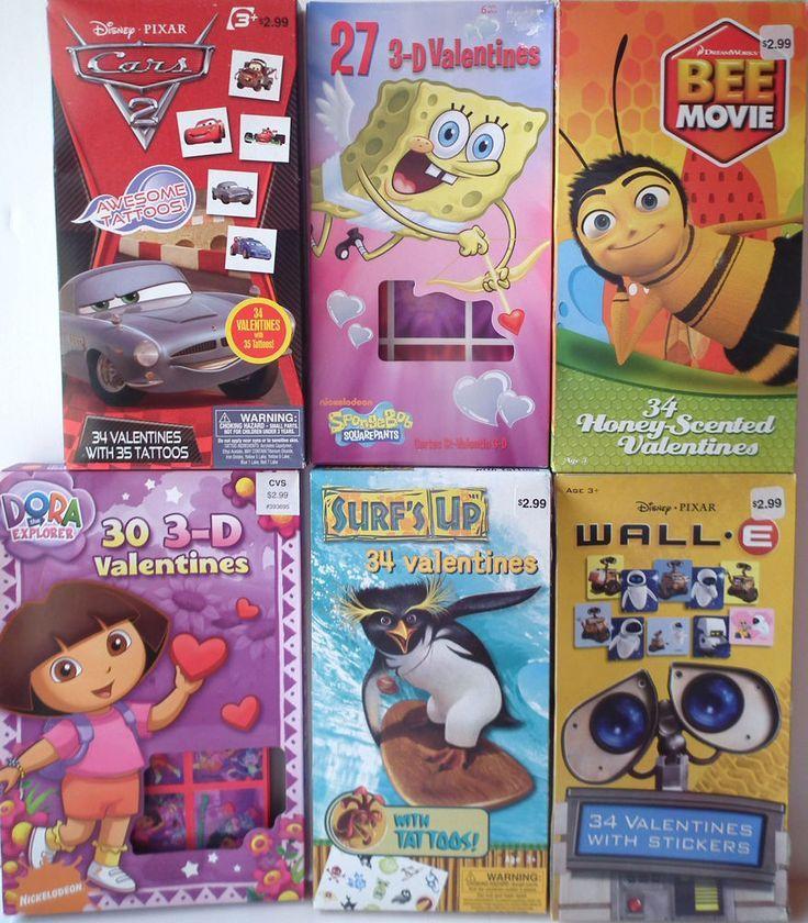 awesome cars dream 2017 valentine cards disney pixar dreamworks nickelodeon 3d spongebob cars walle dora
