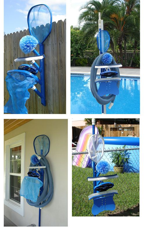 The Pool Caddy Cleaning Accessory Organizer | Swimming pools ...