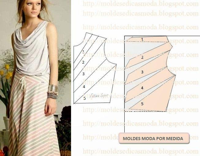 Moldes Moda por Medida: DETALHES DE MODELAÇÃO - 12