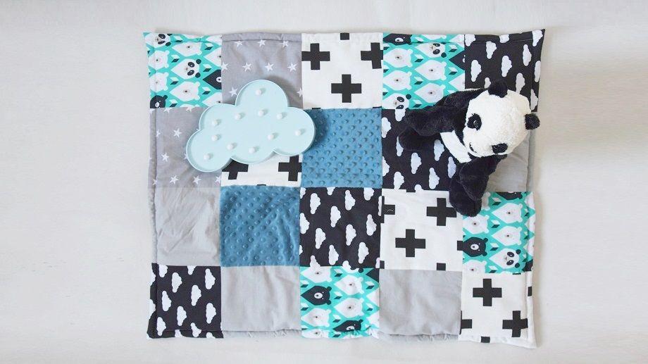 Mata Sensoryczna Dla Niemowlaka Diy Diy Quilts Blanket