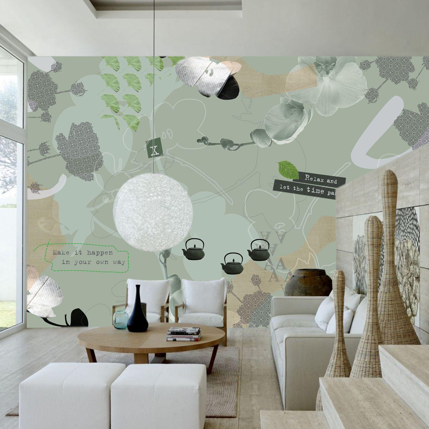 Woonkamer Japan behang - Behangrijk