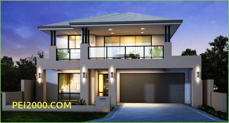 Contoh Terbaru Desain Denah Rumah Mewah Sederhana Rumah Modern