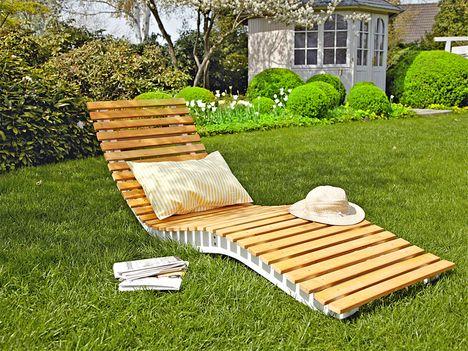 gartenliege ohne unterbau© selbermachen | strandbar | pinterest, Garten Ideen