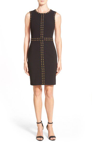 Halogen® Halogen® Studded Sheath Dress (Regular & Petite) available at #Nordstrom