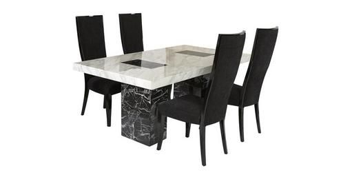 Vienna Fixed Table And 4 Oslo Chairs Vienna Marble  Dfs  Kitchen Classy Dfs Dining Room Furniture Inspiration
