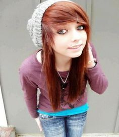 Emo european teen girl hairstyles google search hair scene hairstyles for teenage girls urmus Choice Image