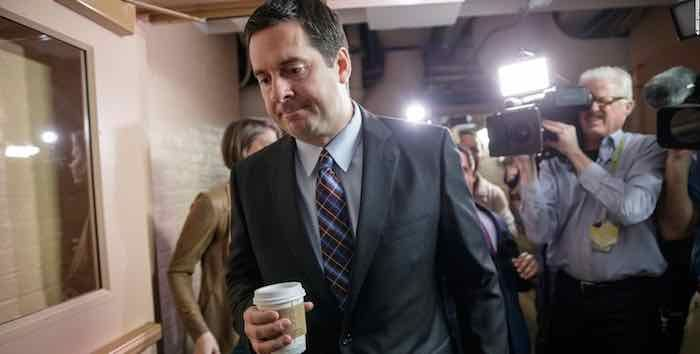 Why Democrats are attacking Devin Nunes: He knows Team 0bama was spying on Team Trump during the transition. So they have to destroy his credibility before he comes forth with the full evidence . . . which he's going to do.
