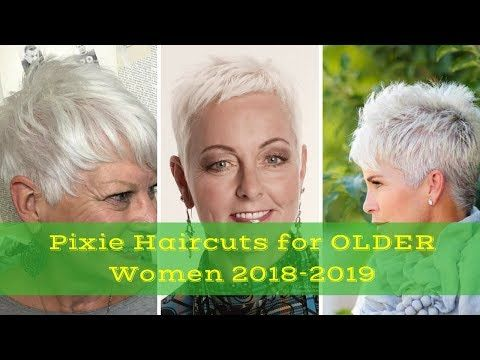 Pixie Hairstyles For Older Women 2017 2018 Styling Pixie Haircut