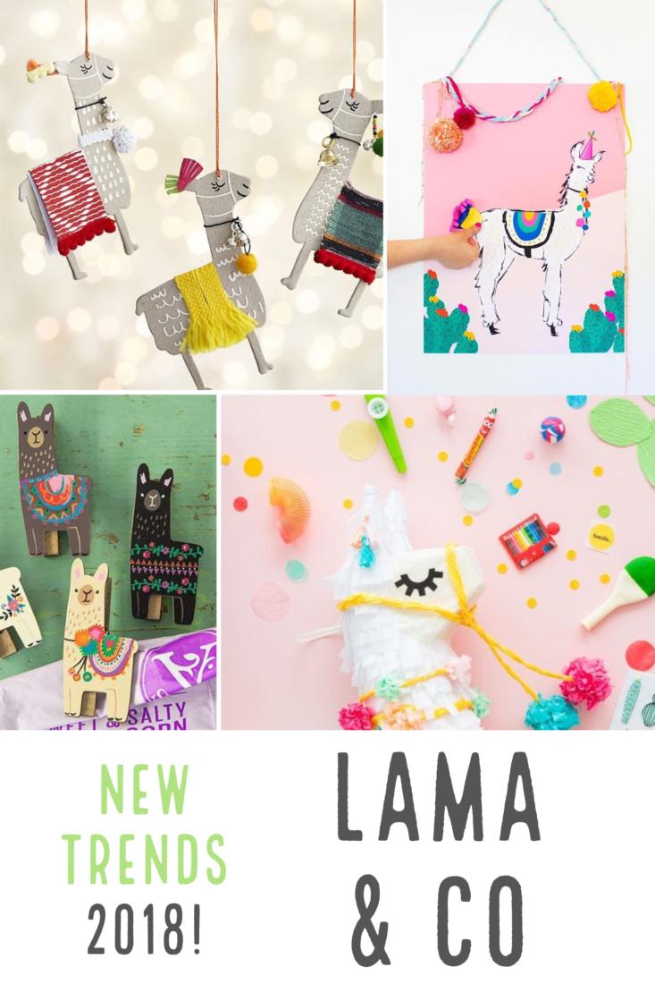 Tendenza Dècor 2018: Lama is the new Fenicottero   Llamas