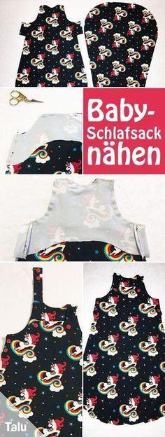 Photo of Baby-Schlafsack nähen – kostenlose Anleitung + Schnittmuster – Talu.de