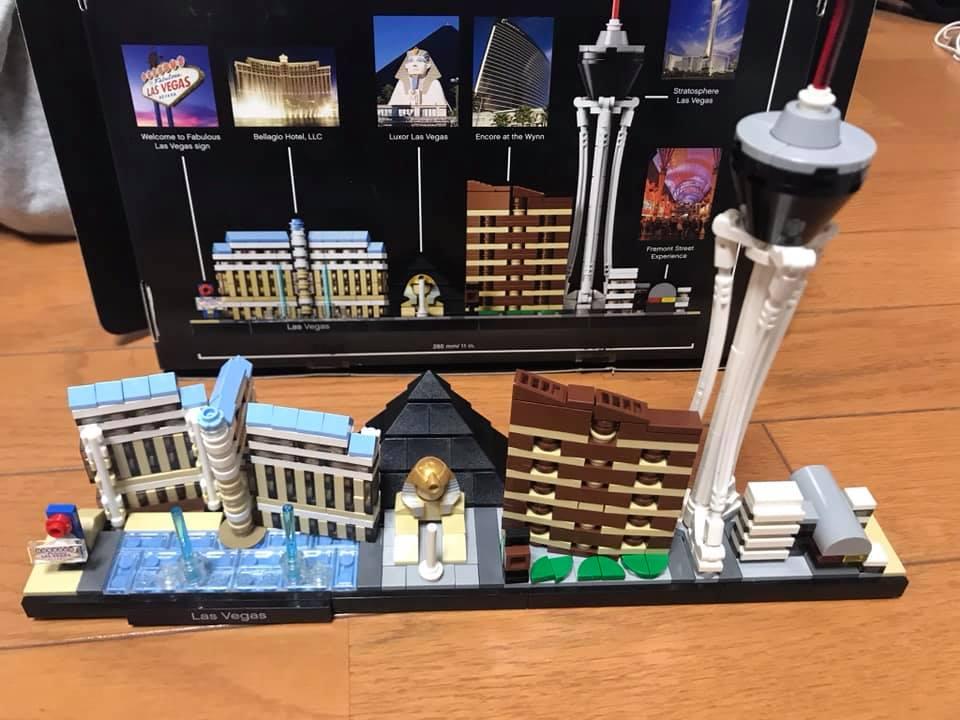Is Las Vegas Lego Set For You Lego Sets Lego Architecture Set Lego Design