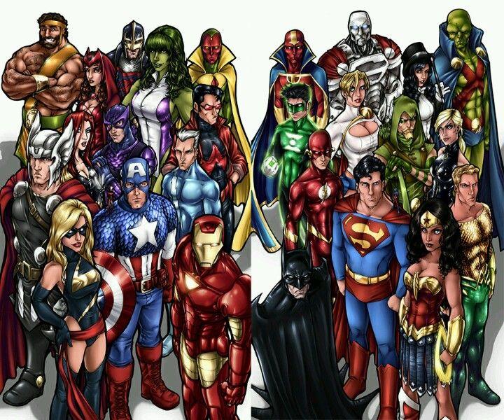 Avengers Vs Justice League Avengers Vs Justice League Superhero Comics