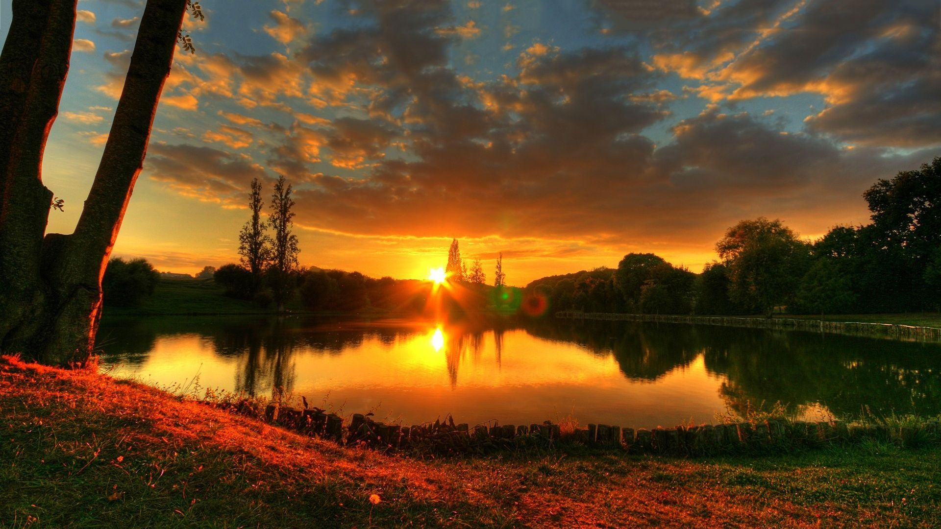 Kaibab Lake Sunset Wallpapers in jpg format for free download