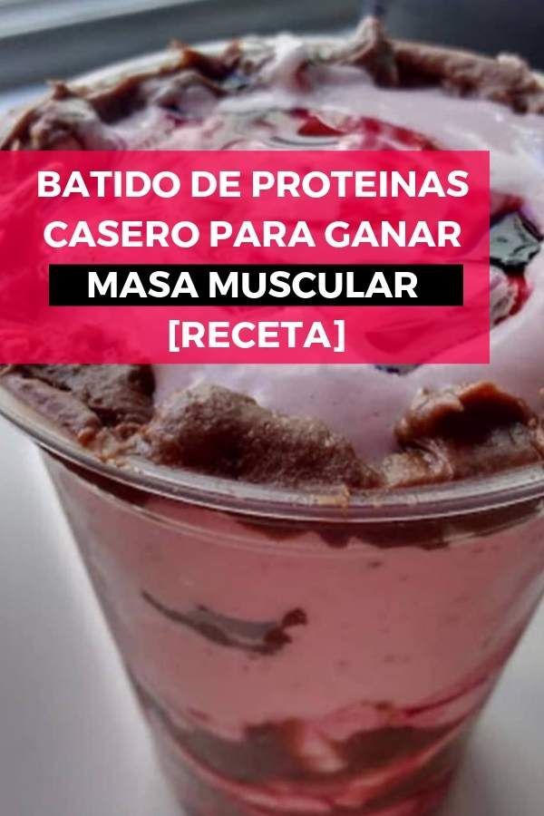malteadas de proteinas para bajar de peso