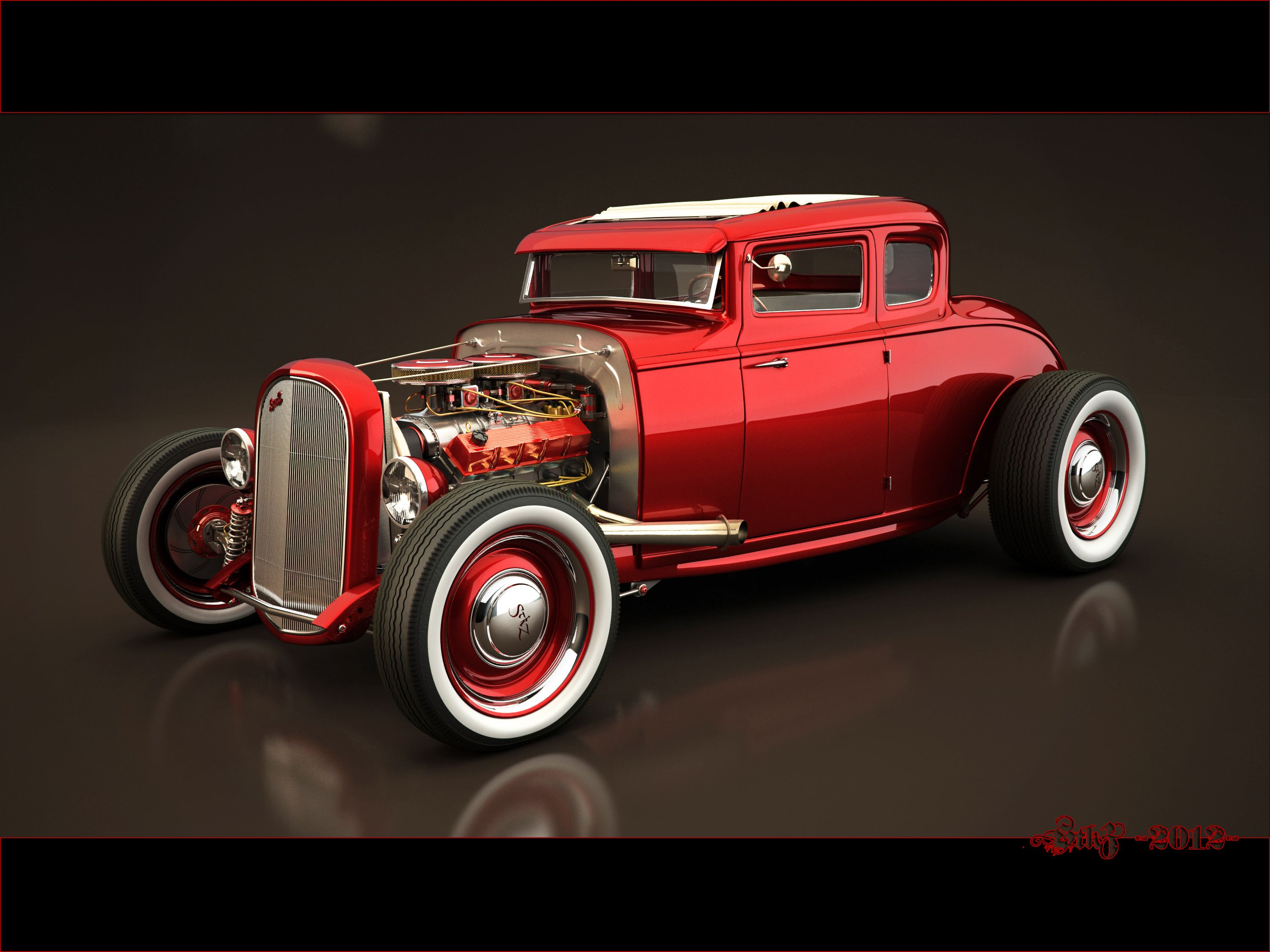 red-ford-hot-rod