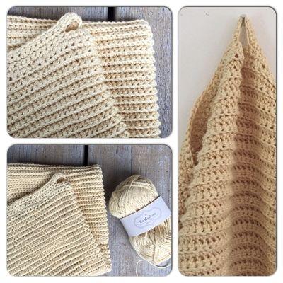 Hæklede Håndklæder I Pimabomuld