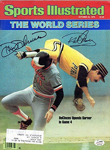 Doug Decinces Phil Garner Autographed 1979 Sports