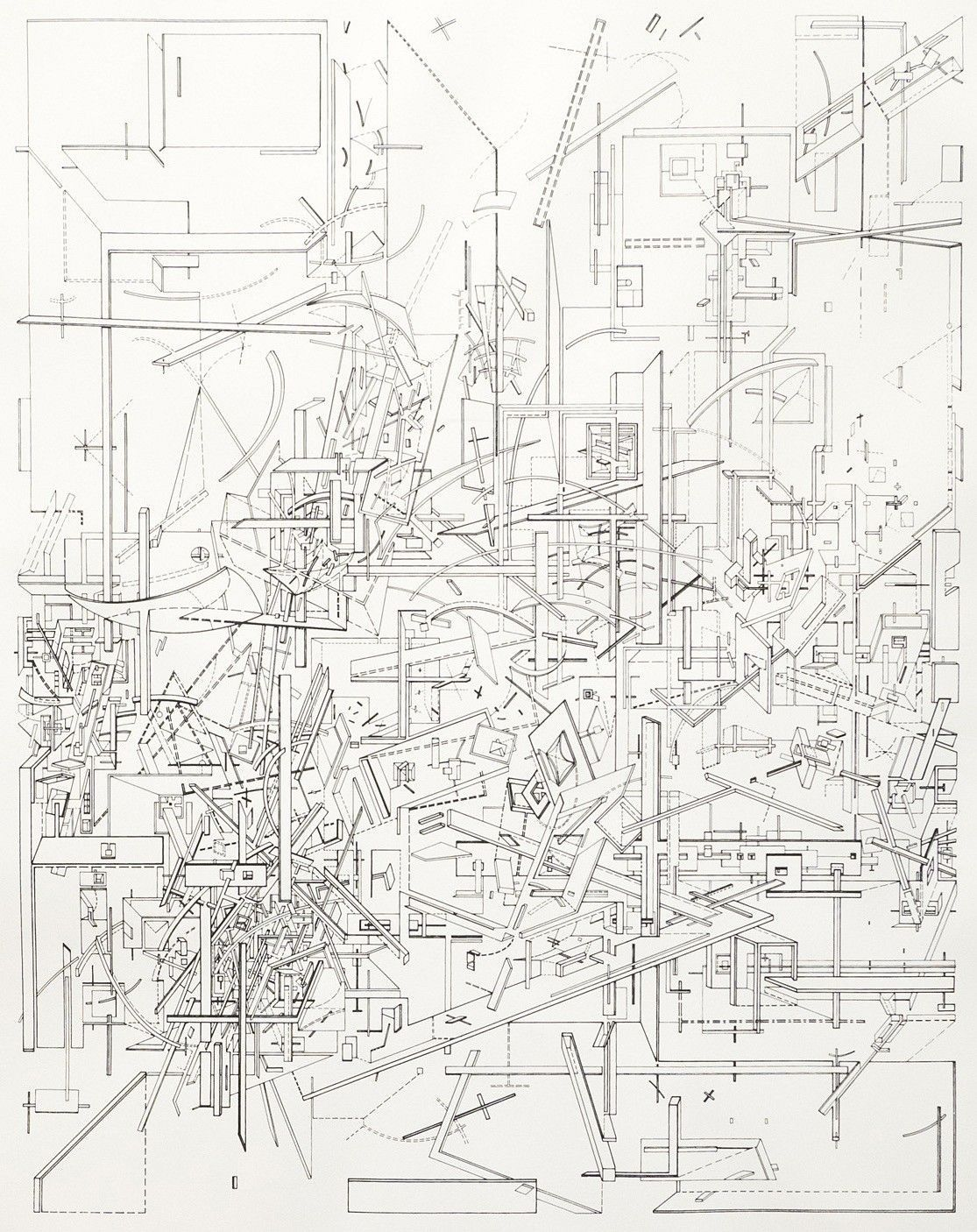 Pin By Orbitalkai On Art Daniel Libeskind Paper Architecture