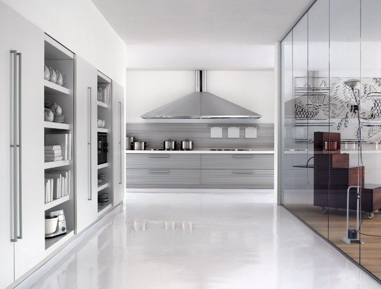 Superb Beautiful Classy Kitchens From Schiffini On Kitchen With Silver Chimney  Kitchen Above Modern Appliances And Open
