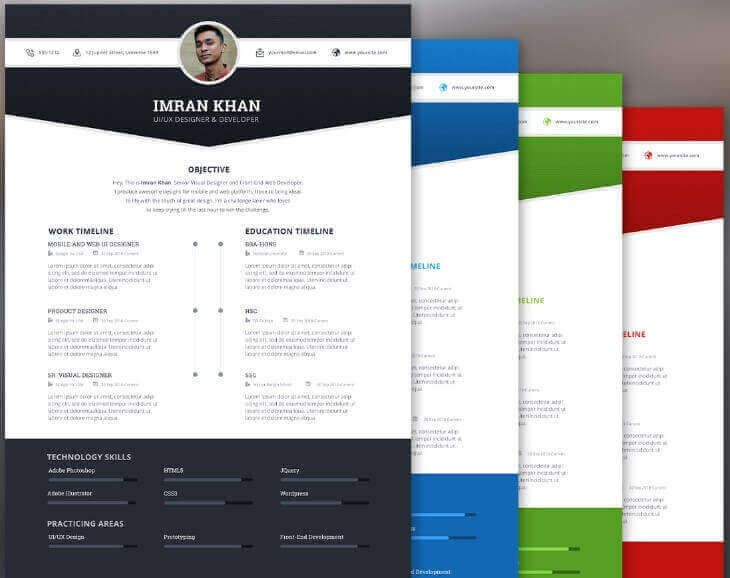 Plantilla de curriculum vitae gratis resume template cv pinteres free resume template psd 4 colors on behance 30 best free resume templates in psd ai word docx 40 best free resume templates yelopaper Images