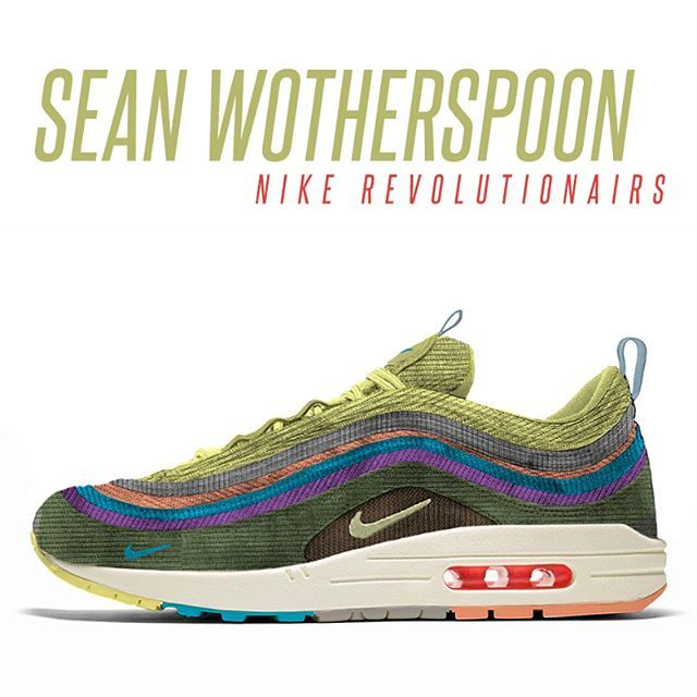 new product db55b 0f00e ... Nike just unveiled three of the twelve RevolutionAirs designs. Sean  Wotherspoon, Kyle Ng, ...