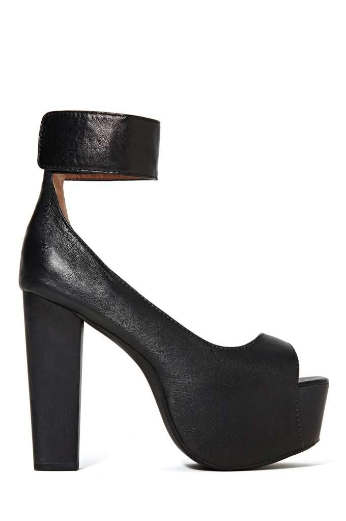 Jeffrey Campbell Girl Crush Platform Heel - Black