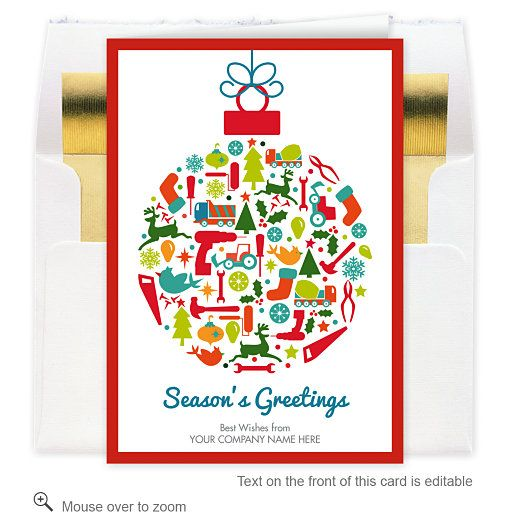 Construction Corporate Christmas Cards