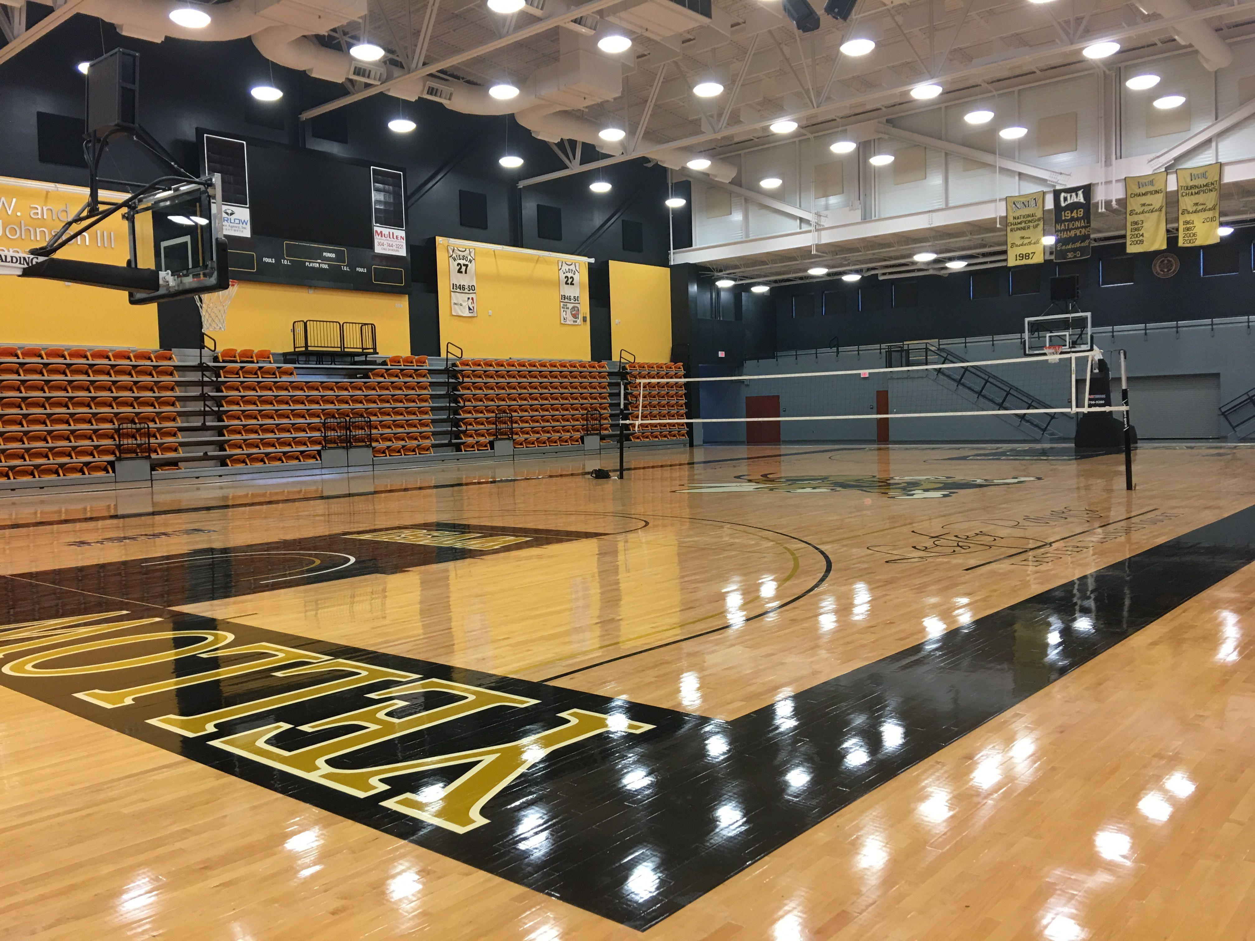 Yellow Jackets Gymnasium Outdoor Volleyball Net Volleyball Net Volleyball Equipment