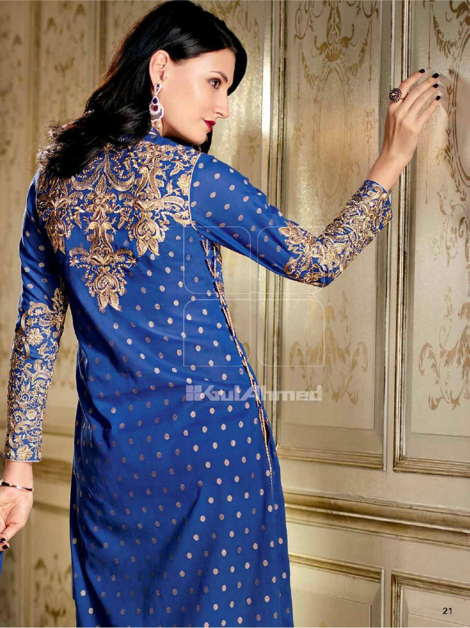 Gul ahmed winter dresses collection 2015 fashionip - Complete Collection Of Gul Ahmed Summer Eid Lawn Collection 2015 Fashion Designer Gul Ahmed Dresses Collection