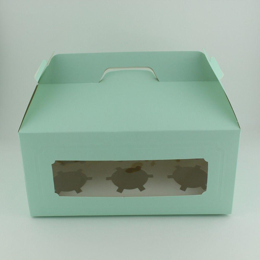 علبة كب كيك كرتون العدد 12 الحجم 27 15 5 13 متوفرة لدى موقع صفقات موقع متخصص بأدوات ومستلزمات التغليف التغليف افكار Takeout Container Container Food