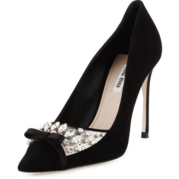 Miu Miu Pointed-Toe Suede Pumps really amazon footaction best place cheap price cheap with mastercard release dates authentic XdKjakE
