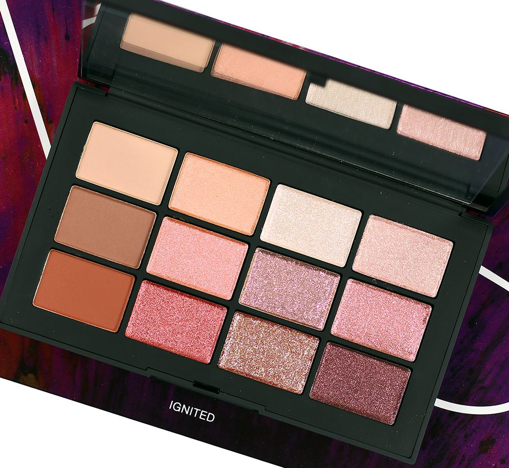 NARS Ignited Eyeshadow Palette Swatches, Review + Eye Look