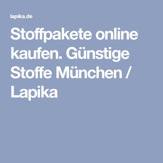 Stoffpakete online kaufen. Günstige Stoffe München