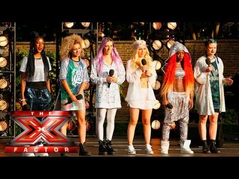 It's time for Alien to mash it up | Boot Camp | The X Factor UK 2015