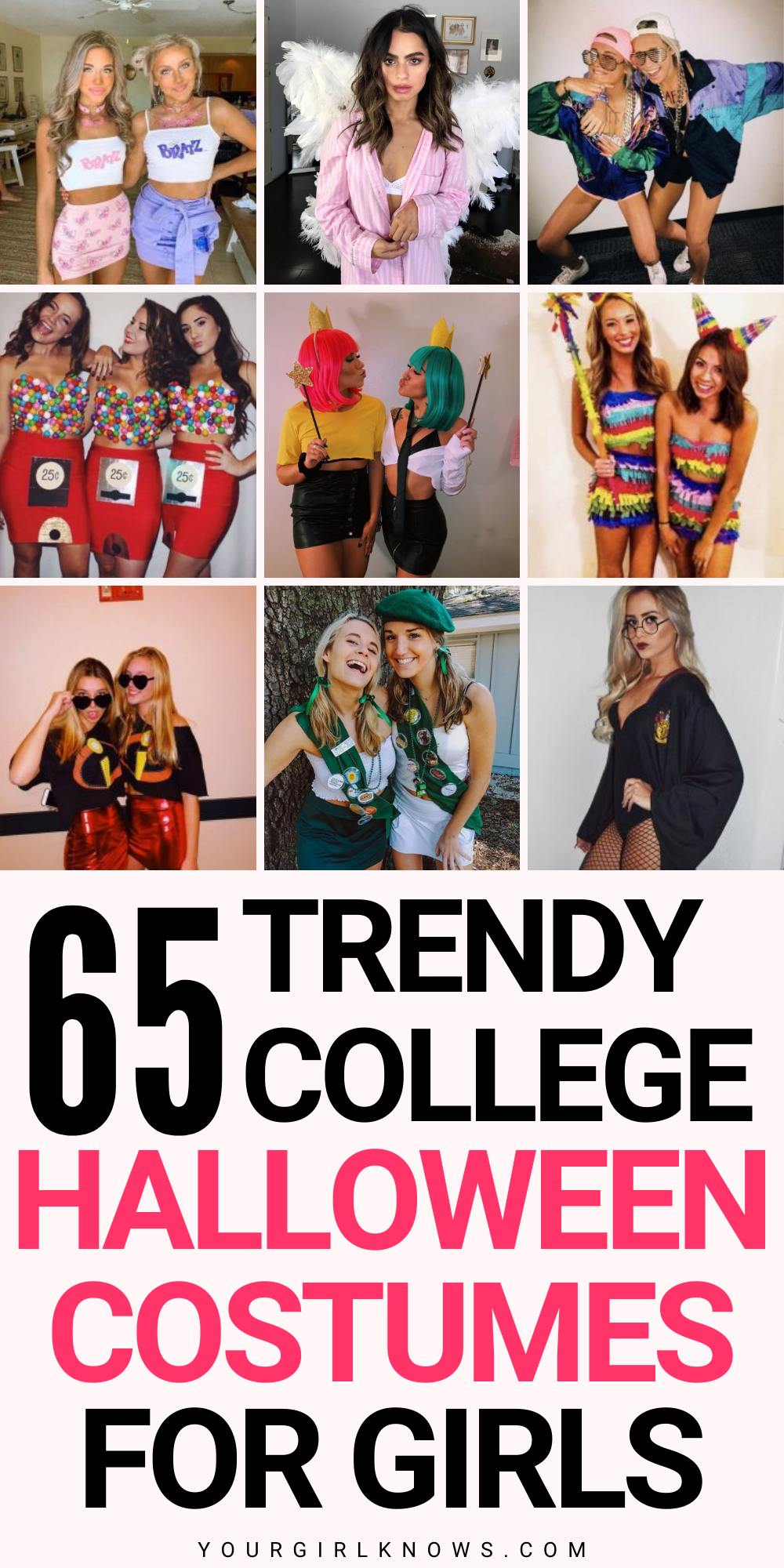 65 TRENDY COLLEGE HALLOWEEN COSTUMES FOR GIRLS THA