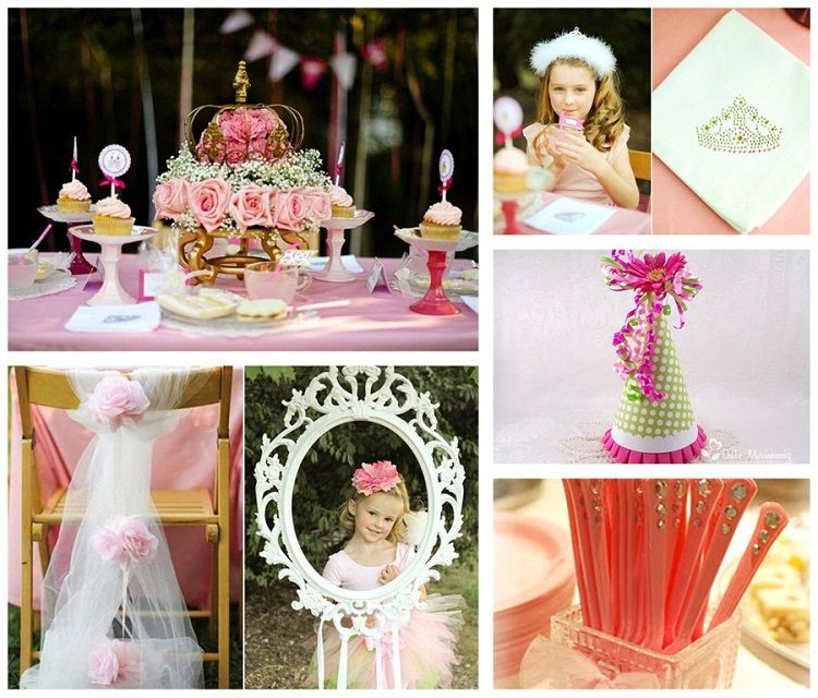 Birthday Party Ideas OUTDOOR PRINCESS PARTY