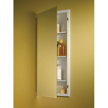 16 X 36 Slim And Tall Medicine Cabinet Without Mirrored Back Recessed Medicine Cabinet Adjustable Shelving Recessed Cabinet