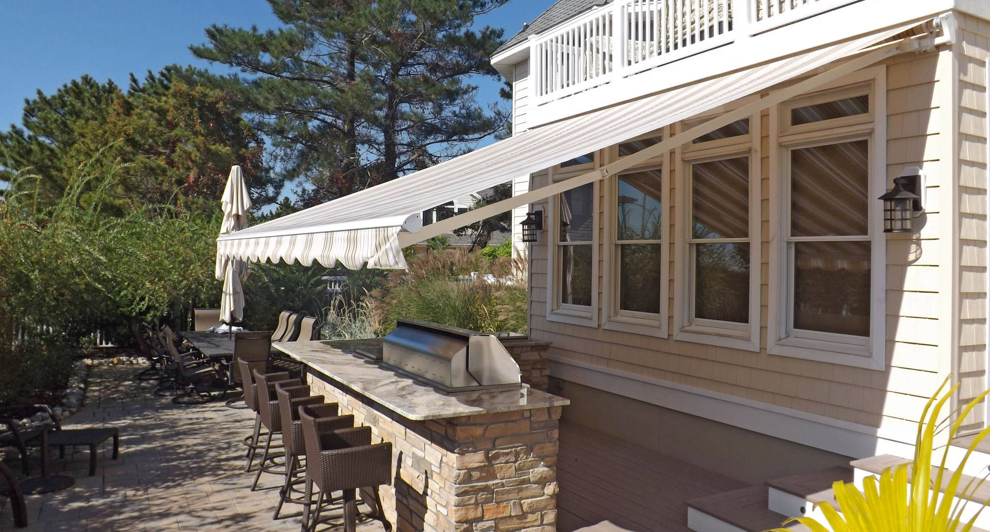 Sunesta Motorized Retractable Awning From Innovative Openings In
