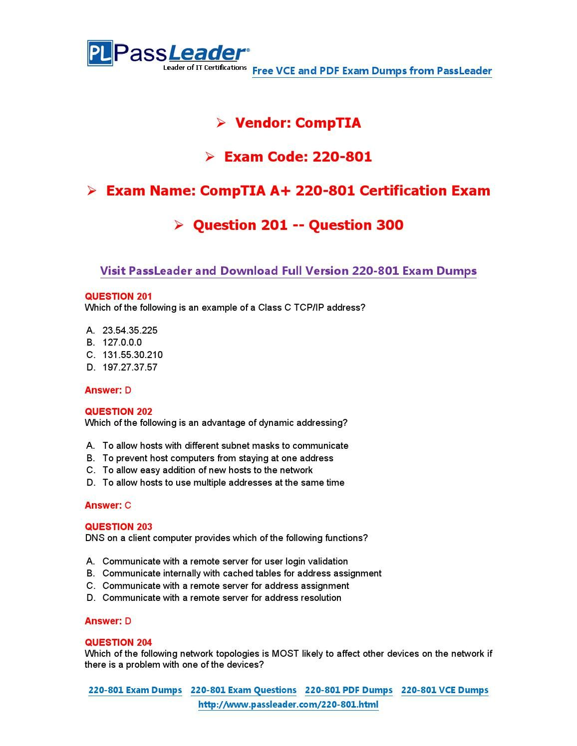 220 801 exam dumps with pdf and vce download 201 300 220 801 220 801 exam dumps with pdf and vce download 201 300 1betcityfo Choice Image