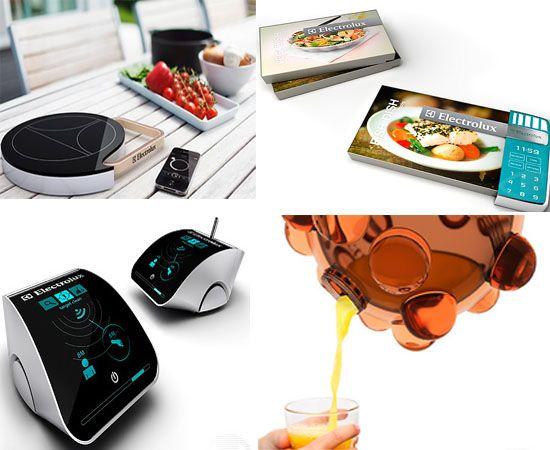 Electrolux Design Lab 2011 Concepts envision futuristic kitchen ...