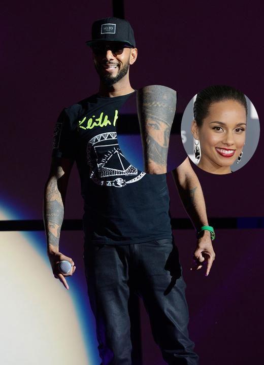 Swizz Beatz Tattoo Of Alicia Keys