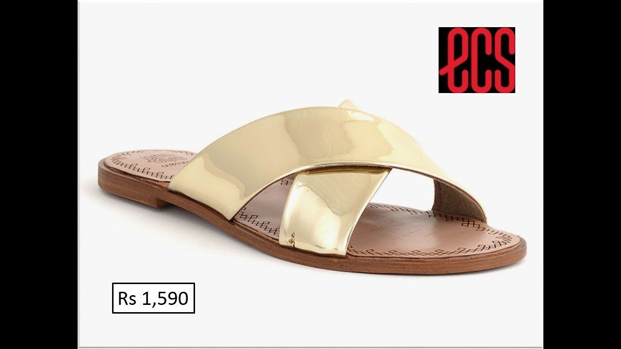 d8be4ed3 ECS CASUAL SANDALS AND SLIPPERS FOR SUMMER 2019 COLLECTION WITH PRICE
