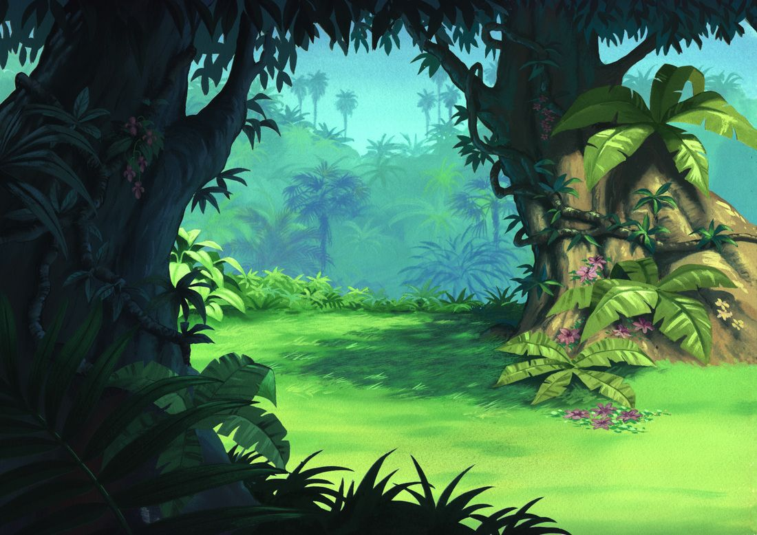 Картинка из джунглей