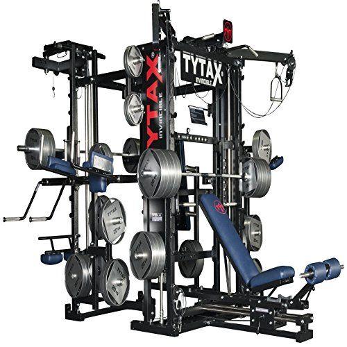 Tytax T3 X Home Gym Best Equipment Machine Set Total Free Weight